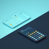 20TH CENTURY TECNOLOGY | Volume 04 - Calculators. Um projeto de Ilustração, 3D, Design de produtos e Ilustração digital de Camilo Belmonte - 13.07.2020