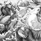 Libertad . Un proyecto de Dibujo a lápiz e Ilustración de Fefa Cox - 14.07.2020