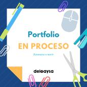 Portfolio en proceso. Un proyecto de Dirección de arte y Diseño de Marta Ramírez de Loaysa - 01.07.2020