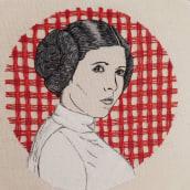 Mi Proyecto del curso: Creación de retratos bordados. Um projeto de Bordado de Valentina Véliz Robledo - 15.07.2020