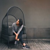 Felix, sofa con pergola. Un projet de Design industriel de Christian Vivanco - 16.07.2020