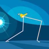 QUEEN . Um projeto de Design de personagens, Animação de personagens, Ilustração vetorial e Animação 2D de jmreggi - 22.03.2019