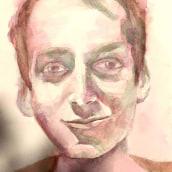Portrait of my son in Artistic Portrait with Watercolors course. Un progetto di Pittura ad acquerello di gregorova.jana - 23.07.2020