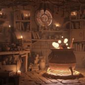 Mi Proyecto del curso: Creación de escenarios 3D desde cero en Maya. A 3-D-Animation project by Albert Valls Punsich - 24.07.2020