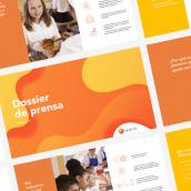 Media Deck for Fundación Probitas. Un progetto di Design , e Graphic Design di Katya Kovalenko - 26.12.2018