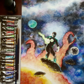 My project in Modern Watercolor Techniques course. Un proyecto de Pintura a la acuarela de franciscojmendez76 - 26.07.2020