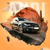 Proyecto publicitario Audi. A Postproduktion, Fotoretuschierung, Concept Art, Werbefotografie und Fotomontage project by franklin henao - 26.07.2020