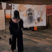 El Hombre Suspendido. Un proyecto de Pintura de Armando Mesías - 27.10.2019