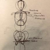 Mi Proyecto del curso: Dibujo anatómico para principiantes. Un proyecto de Dibujo a lápiz y Dibujo anatómico de Carlos Lara - 28.07.2020