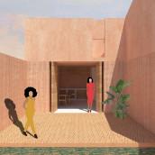My project in Architectural Visualization Using Digital Collage course. Un proyecto de Ilustración arquitectónica de buggy - 29.07.2020