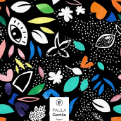Iconic Graphics (Disponible en @Patternbank). A Graphic Design, and Pattern Design project by María Paula Gentile - 08.02.2020