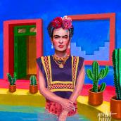 Mi Proyecto del curso: Retratos pictóricos con técnicas digitales. Un projet de Illustration de Alex de Marcos García - 03.08.2020
