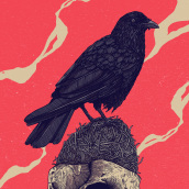 Empty nest. A Illustration, and Poster Design project by Dani Torres - 08.03.2020