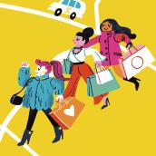 Mapa de Dublin para My Taxi. Un proyecto de Ilustración, Publicidad e Ilustración digital de Giovana Medeiros - 23.07.2018
