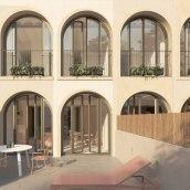 B67. Un proyecto de Arquitectura, Diseño de interiores e Interiorismo de Nook Architects - 06.08.2020