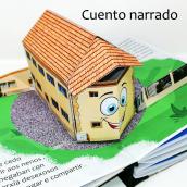 """Mi Proyecto del curso: Libro pop-up: """"Onde están os nenos?"""" (¿Dónde están los niños?""""). Un proyecto de Creatividad y Papercraft de Nirioxis Rodríguez Pérez - 31.07.2020"""