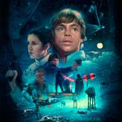 The Empire Strikes Back. Um projeto de Ilustração digital de Ignacio RC - 07.08.2020