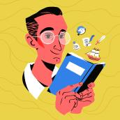 Historia de España para selectividad - Podcast Cover Art. Um projeto de Ilustração, Ilustração digital, Design digital e Design para Redes Sociais de Amatita Studio - 13.08.2020