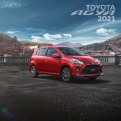 Matte Painting Toyota Agya. A Photo retouching project by David Vega Palacios - 08.11.2020