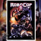 ROBOCOP (1987) - Poster Alternativo. Um projeto de Ilustração de Mariano Mattos - 14.08.2020