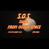 S.O.S. Signal From Outer Space. Un progetto di Motion Graphics, Cinema, video e TV, 3D, Postproduzione, Cinema, Video, VFX, Animazione di personaggi, Animazione 3D, Creatività, Character design 3D, Video editing, Produzione audiovisiva, Postproduzione audiovisiva, Script , e Progettazione 3D di Víctor Garay - 15.08.2020