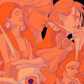 VIESCZY. Un proyecto de Ilustración, Diseño de personajes, Artesanía, Bellas Artes, Pintura, Cómic y Arte urbano de Enrique Montiel Ayala - 05.01.2020