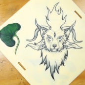 Mi Proyecto del curso: Cómo diseñar un tatuaje. Un proyecto de Diseño de tatuajes de Juan Camilo - 16.08.2020