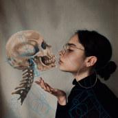 Anatomía humana. Um projeto de Direção de arte, Ilustração digital e Fotografia artística de Andrea H Paulín - 18.08.2020