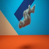Mi Proyecto del curso:  Animación 3D para no animadores con Cinema 4D. A 3D, Character animation, 3D Animation, and Design 3D project by Alejandro Vicente - 08.18.2020