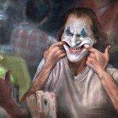 """""""Put on a happy face"""" - Joker. Um projeto de Ilustração, Desenho, Pintura em aquarela, Ilustração de retrato, Desenho de Retrato, Desenho realista e Desenho artístico de Carlos Rodríguez Casado - 19.08.2020"""