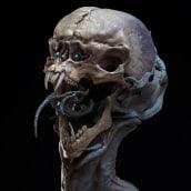 Alien Skull. Un projet de 3D, Modélisation 3D , et Conception 3D de Juan Novelletto - 19.08.2020