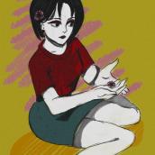 Mi Proyecto del curso: Creación de personajes manga HANA. Un projet de Illustration, Illustration numérique et Illustration d'encre de Florencia Grassi - 20.08.2020