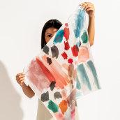 Coleccion de Pañuelos 2020. Un progetto di Fotografia, Design di accessori, Product Design, Design Pattern , e Stampa di Mónica Muñoz Hernández - 20.08.2020