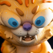 JANKY Cat. Un proyecto de Escultura, Diseño de juguetes, Ilustración infantil y Art to de Mitote Rodela - 22.08.2020
