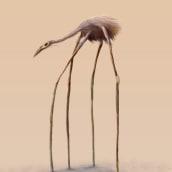 Andador de montañas. Un proyecto de Ilustración, Dibujo, Ilustración digital y Dibujo digital de Alex Shagu - 25.08.2020