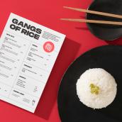 Gangs of Rice. Un proyecto de Br e ing e Identidad de VVORKROOM - 26.08.2020