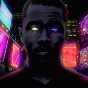 Frank Ocean - Nights ( Visuals - Personal Project ) . Um projeto de Motion Graphics, Animação e Animação 2D de Klarens Malluta - 26.08.2020