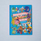 Festival Folk . Un projet de Illustration, Character Design et Illustration jeunesse de Rob Flowers - 01.11.2018