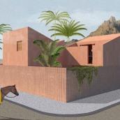 Mi Proyecto del curso: Representación gráfica de proyectos arquitectónicos. A Digital architecture project by Diego Castillo - 08.29.2020