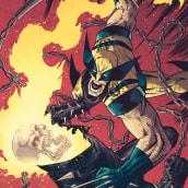 Wolverine 1. Um projeto de Ilustração, Comic, Desenho, Ilustração digital e Desenho digital de Jose Real Lopez - 31.08.2020