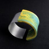 Brazalete: Islas III. Um projeto de Artesanato, Design de joias e Escultura de Inmaculada Amor - 31.08.2020