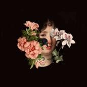 Retrato ilustrado con collage. Un proyecto de Diseño, Diseño de personajes, Collage, Ilustración de retrato, Pintura digital y Fotomontaje de Alejandra Acosta - 01.09.2020