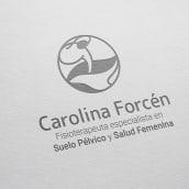 Estrategia de branding y diseño web para Carolina Forcén - Fisioterapeuta especializada en salud femenina. Un proyecto de Br, ing e Identidad, Diseño gráfico y Diseño Web de Eva Cortés Jiménez - 15.03.2019
