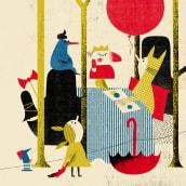 Editorial: digital collage. Un progetto di Illustrazione, Collage, Illustrazione di ritratto e Illustrazione infantile di Catarina Sobral - 30.12.2016