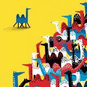 Editorial: analogue + digital. Un progetto di Illustrazione, Illustrazione digitale e Illustrazione infantile di Catarina Sobral - 30.06.2014