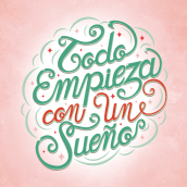Portada agenda Yosíquesé. A Lettering project by Elisa Isabel Delgado Cruz - 09.06.2020