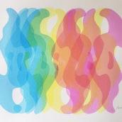 Spectrum. A Bildende Künste, Siebdruck, Malerei mit Acr und l project by Romulo Martinez - 08.06.2020