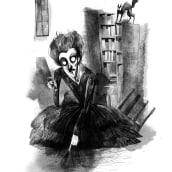 Ilustraciones de Misterio. Un projet de Illustration et Illustration numérique de Alfredo Cáceres - 08.09.2018