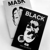 BOOK MASK & BOOK MASK. Um projeto de Ilustração de Oscar González Manresa - 10.09.2020