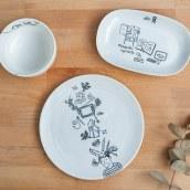 Set de aperitivo: Una historia de Chichinabo. A Design, Illustration und Keramik project by CHICHINABO INC - 11.09.2020
